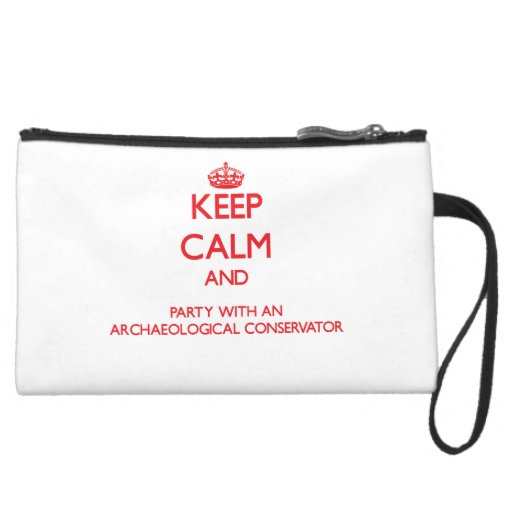 Keep Calm and Party With an Archaeological Conserv Wristlets