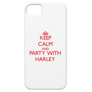 Keep Calm and Party with Harley iPhone 5 Cases