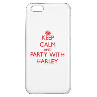 Keep calm and Party with Harley iPhone 5C Case