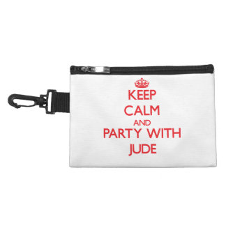 Keep calm and Party with Jude Accessories Bags