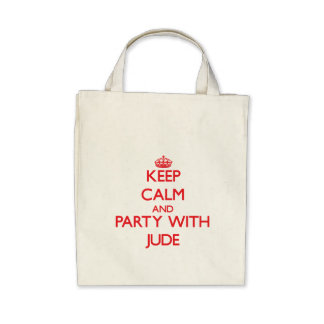 Keep calm and Party with Jude Bag