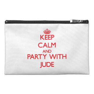 Keep calm and Party with Jude Travel Accessories Bags