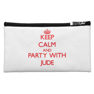 Keep calm and Party with Jude Cosmetic Bag