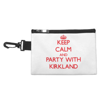 Keep calm and Party with Kirkland Accessory Bag