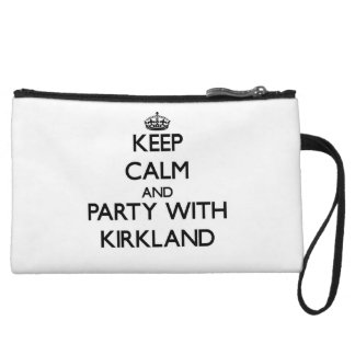 Keep calm and Party with Kirkland Wristlet