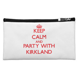 Keep calm and Party with Kirkland Cosmetic Bags