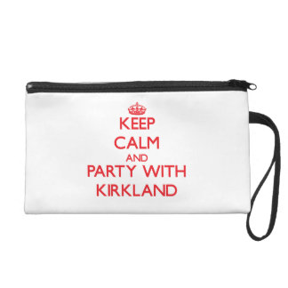Keep calm and Party with Kirkland Wristlets