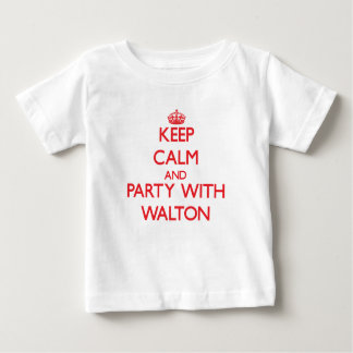 Keep calm and Party with Walton T-shirt