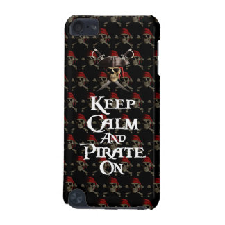 Keep Calm And Pirate On iPod Touch 5G Case