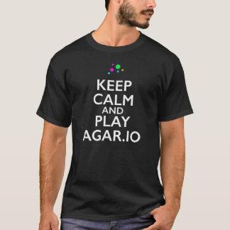Keep Calm and Play Agar.io T-Shirt