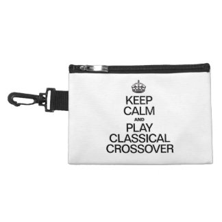 KEEP CALM AND PLAY CLASSICAL CROSSOVER ACCESSORIES BAG