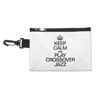 KEEP CALM AND PLAY CROSSOVER JAZZ ACCESSORY BAGS