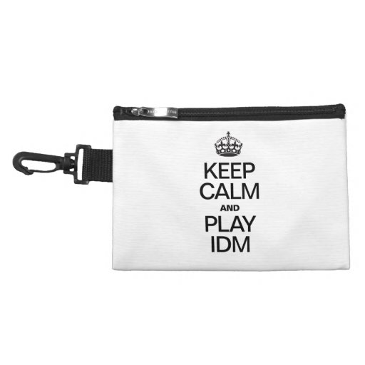 KEEP CALM AND PLAY IDM ACCESSORIES BAGS