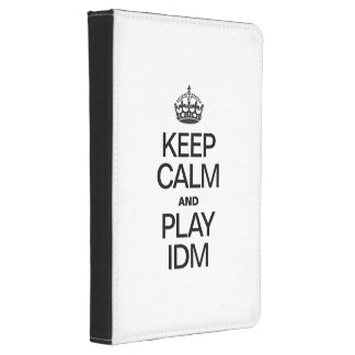 KEEP CALM AND PLAY IDM KINDLE 4 COVER