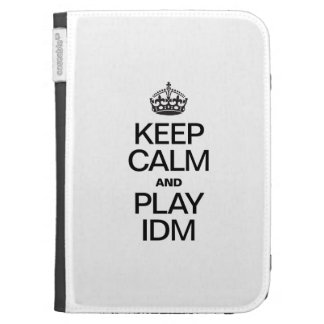 KEEP CALM AND PLAY IDM CASES FOR KINDLE