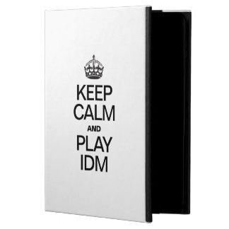 KEEP CALM AND PLAY IDM CASE FOR iPad AIR