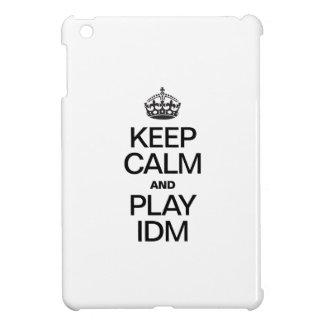 KEEP CALM AND PLAY IDM iPad MINI CASE