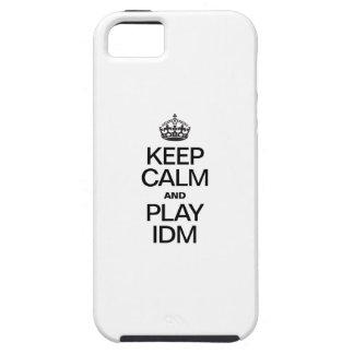 KEEP CALM AND PLAY IDM iPhone 5 CASE