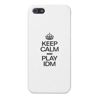 KEEP CALM AND PLAY IDM COVER FOR iPhone 5