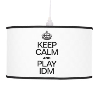 KEEP CALM AND PLAY IDM CEILING LAMPS