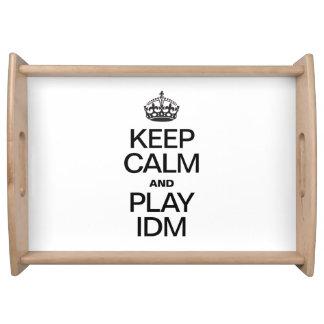 KEEP CALM AND PLAY IDM SERVICE TRAY