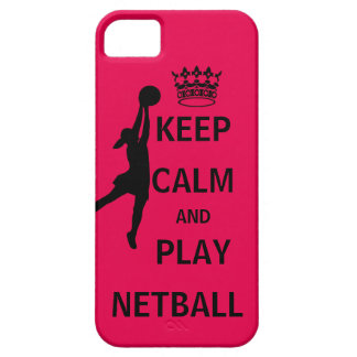 Keep Calm and Play Netball Case For The iPhone 5