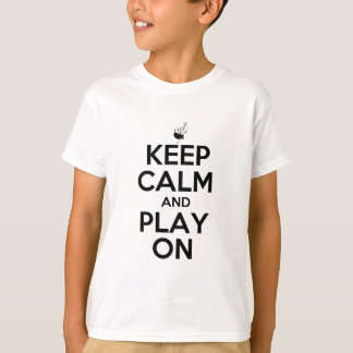 Keep Calm and Play On Bagpipes T-Shirt
