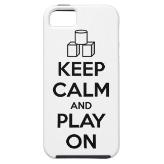 Keep Calm And Play On iPhone 5 Cover