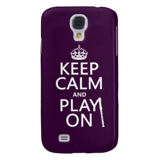 Keep Calm and Play On (recorder)(any color)