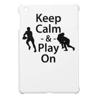 Keep Calm and Play On (Rugby) Case For The iPad Mini