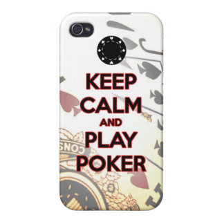 keep calm and play poker case for the iPhone 4