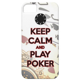 keep calm and play poker case for the iPhone 5