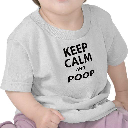 Keep Calm and Poop Tshirt