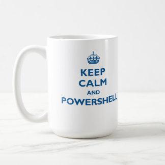Keep Calm And PowerShell Mug