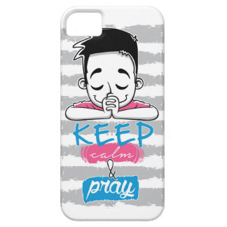 Keep calm and pray iPhone 5 covers