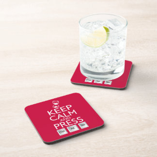 Keep Calm and press control Alt and delete funny Coaster