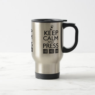 Keep Calm and press control Alt and delete funny Coffee Mugs