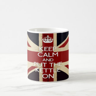 Keep Calm and Put The Kettle On Coffee Mug