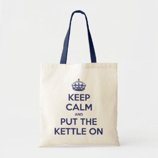 Keep Calm and Put The Kettle On Tote Bag