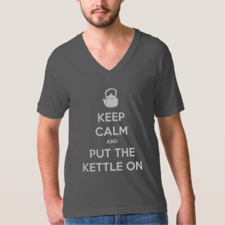 Keep Calm and Put The Kettle On Tshirt