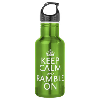 Keep Calm and Ramble On 532 Ml Water Bottle