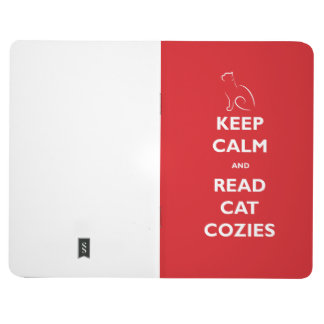 Keep Calm and Read Cat Cozies Pocket Journal