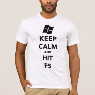 """""""Keep Calm and Refresh"""" A.A. Style T-shirt"""