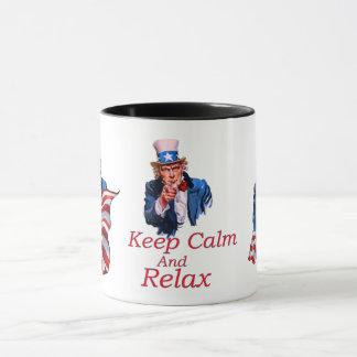 Keep  Calm And Relax Mug