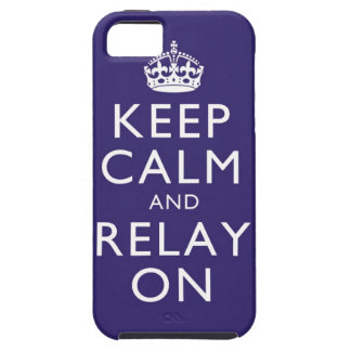 Keep Calm and Relay On iPone 4 case