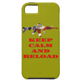 Keep Calm And Reload iPhone 5/5S Covers