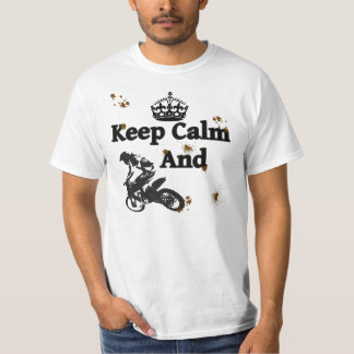 Keep Calm And Ride - Dirtbikes T-Shirt