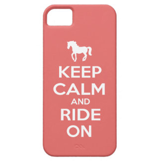 Keep Calm and Ride On iPhone 5 Covers
