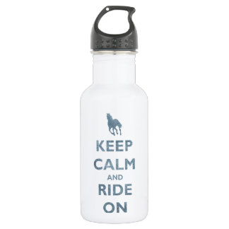 Keep Calm and Ride On Vintage look Horse lovers
