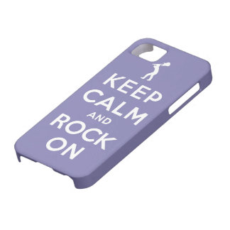 Keep calm and rock on case for the iPhone 5